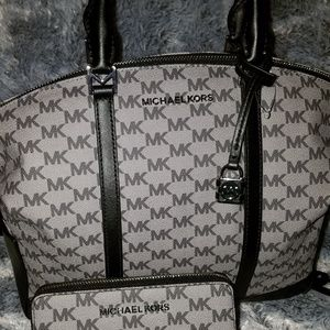 Micheal Kors brand new satchel & wallet